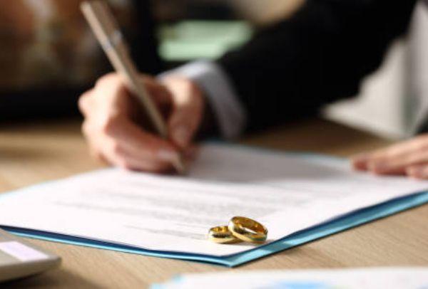 Firma de divorcio